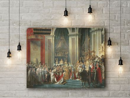 Jacques-Louis David: The Consecration of the Emperor Napoleon (1769-1821) . Fine Art Canvas.